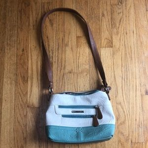 Handbags - Stone Mountain USA multi pocket shoulder bag